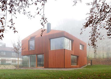 maison ossature bois allemagne 187 maison 171 11 x 11 187 par 171 titus bernhard architekten 187 allemagne maisons en bois