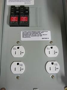 Midwest 70 Amp U011gwtr Rainproof Power Outlet 120  240 Vac
