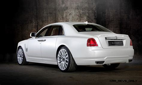 mansory rolls mansory rolls royce ghost upgrades in white and electric