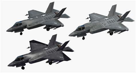 F-35 Strike Fighter 3d