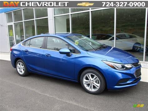 2016 kinetic blue metallic chevrolet cruze lt sedan