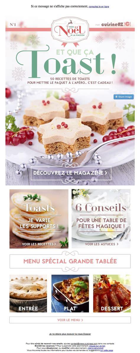 cuisine z galerie de newsletters de la marque the mailing book
