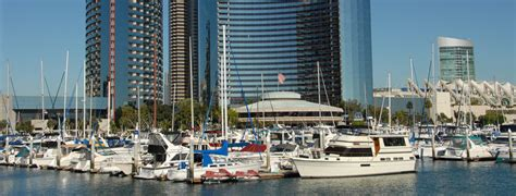 Boat Rental With Driver San Diego by San Diego Waterfront San Diego Marriott Marquis Marina