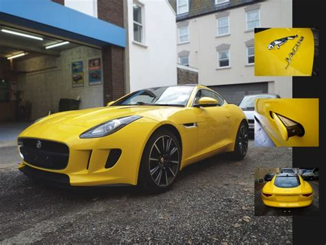 F-type Jaguar 3m Vehicle Wrap