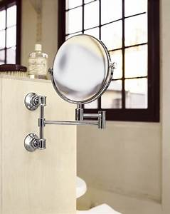 hansgrohe axor montreux shaving mirror pull out 42090000 With pull out mirror bathroom