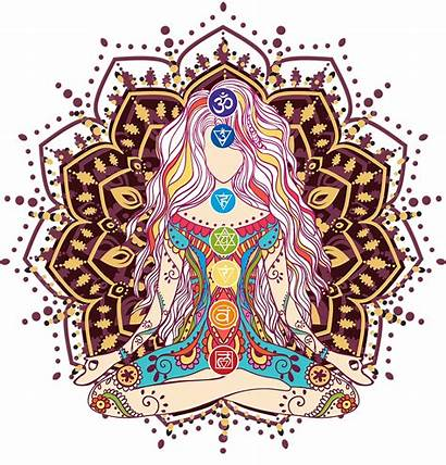 Meditation Mandala Yoga Chakras Chakra Lotus Third