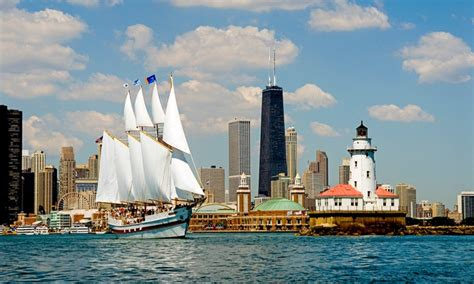 Navy Pier Boat Rides Coupons by Tall Ship Windy Of Chicago Chicago Il Groupon