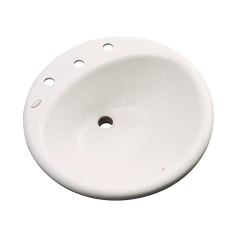 whitehaus collection drop in bathroom sink in light blue