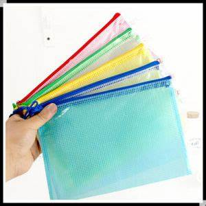 china high quality file bag plastic document bag zip lock With ziplock document bags