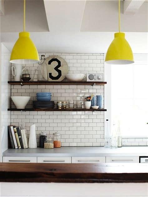 stylish open shelving for modern kitchen design
