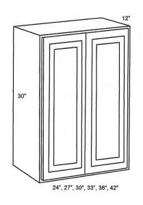 Tsg Cabinetry Signature Pearl by W3030b Wall Cabinets Door Wall Cabinet Signature