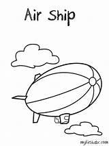 Coloring Air Pages Transportation Colouring Ambulance Ship Getcolorings Printable Popular Coloringhome Print sketch template