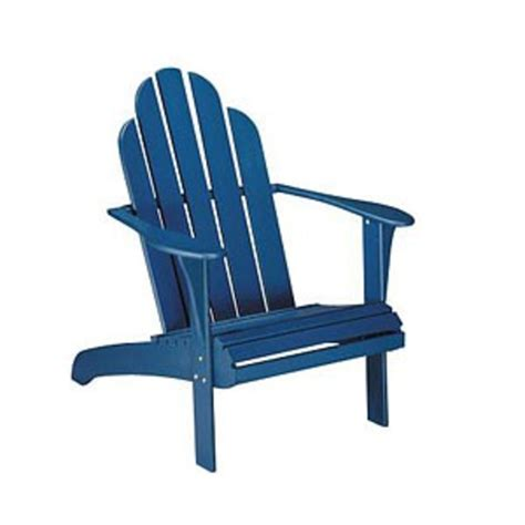 blue adirondack chair free images at clker vector