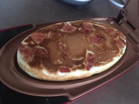 red copper  minute chef big bacon pancake recipe chef recipes food recipes pancakes bacon