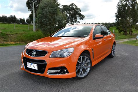 holden commodore review  vf ssv