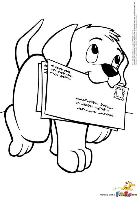 Free Printable Coloring Pages Puppy coloring pages Dog