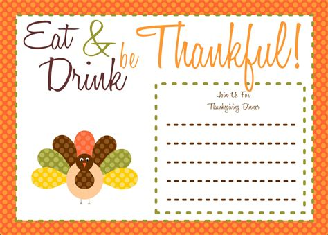 thanksgiving printables   party bakery catch
