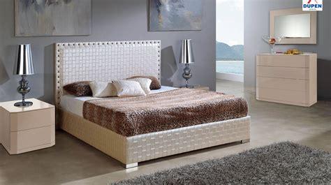 spain leather contemporary platform bedroom sets