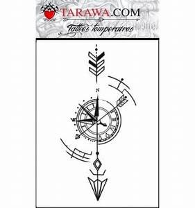 Dessin Fleche Tatouage : tatouage fl che et boussole tarawa piercing ~ Melissatoandfro.com Idées de Décoration
