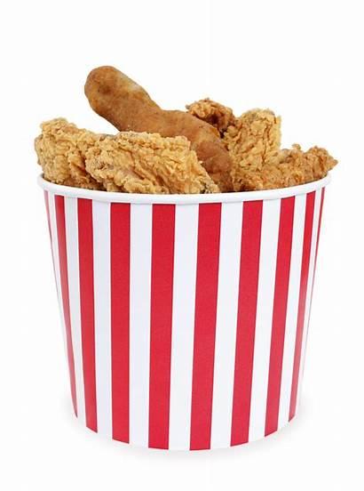 Chicken Bucket Fried Box Clipart Stripes Studio