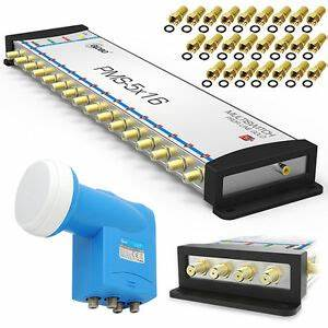 Quattro Lnb Multischalter : multischalter 5 16 quattro lnb 0 1db sat multiswitch ~ Watch28wear.com Haus und Dekorationen