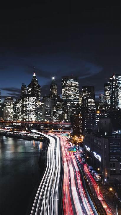 4k 8k Night York Wallpapers Manhattan 1440