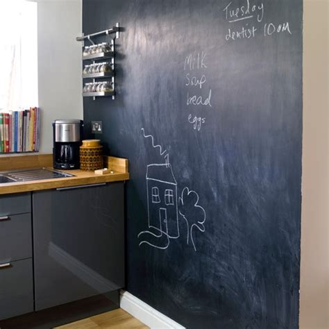 kitchen blackboard blackboard kitchen wall easy kitchen transformations decorating housetohome co uk
