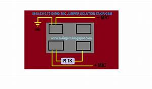 Yasir Mobile Computer Repairing Center  5610 5310 7310 E90 Mic Jumper