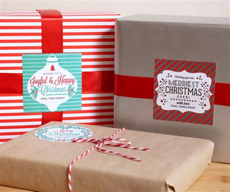 merry christmas labels   paper sparrow
