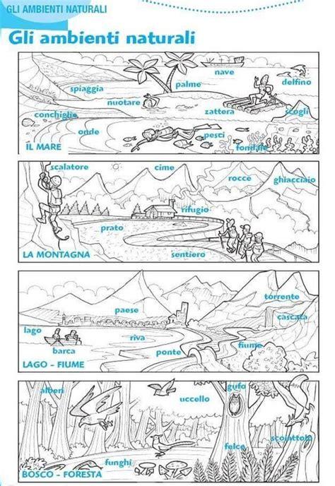 gli ambienti naturali classe attivita geografia