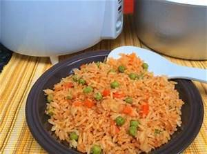 Cómo hacer arroz rojo mexicano en olla arrocera | Recipe ...