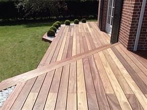 Terrasse Bois Exotique : terrasse en bois exotique padouk galaxy jardin ~ Melissatoandfro.com Idées de Décoration