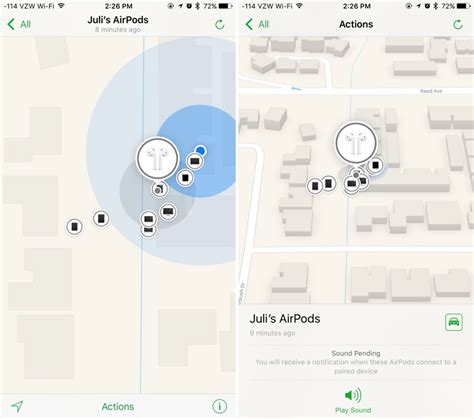 last location of iphone how to use ios 10 3 s new find my airpods feature mac rumors