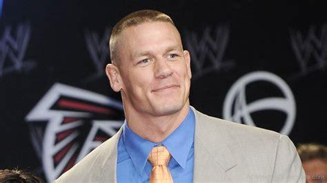 WWE John Cena Smiling