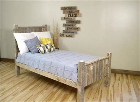 White Sofa Fabric by How To Make A Cheap Pallet Bed Frame Pallets Designs