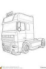 dessin  colorier dun camion citerne