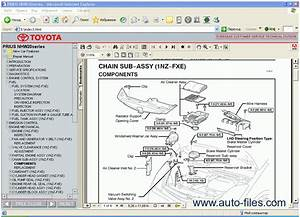 Toyota Prius  Repair Manuals Download  Wiring Diagram