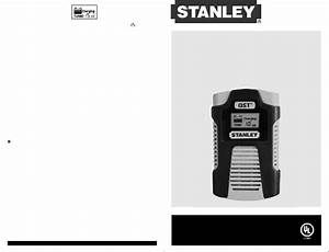 Stanley Bc6809 Battery Charger Instruction Manual Pdf View