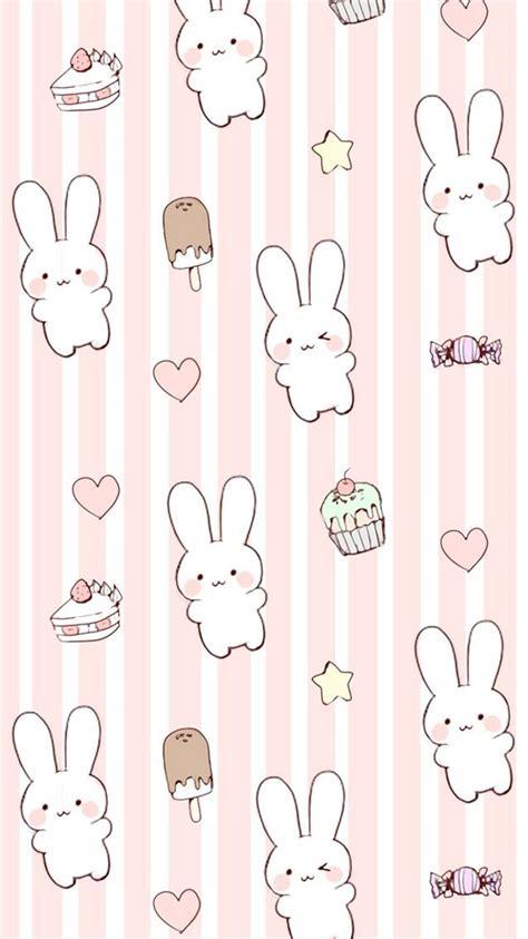 Anime Bunny Wallpaper - kawaii bunny wallpaper background for iphone 6 6s