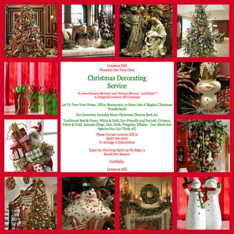 Lemmon Hill Holiday Decorating Services  Lemmon Hill