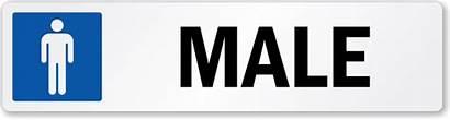Male Restroom Label Symbol Lb 2131 Mydoorsign