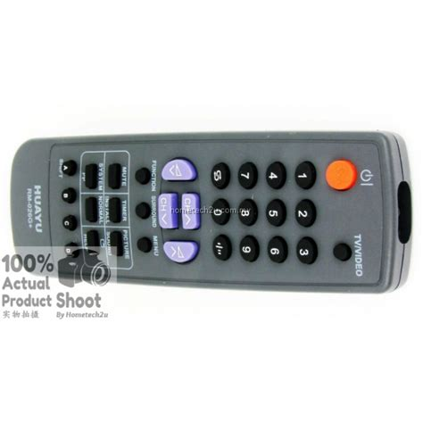 ctv crt  tv remote control  sharp replacement rm