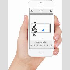 Blue Note Iphone App  Learn To Read Music Notes Flash Cards