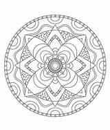 Coloring Tie Dye Mandala Adult Pour Coloriage Mandalas Adultes Astratti Mandellas Printable Coloriages Geometrici Getcolorings Et Stci Enfants Pix Rough sketch template
