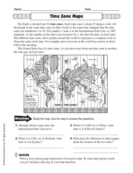 time zones and longitude worksheets worksheets for all