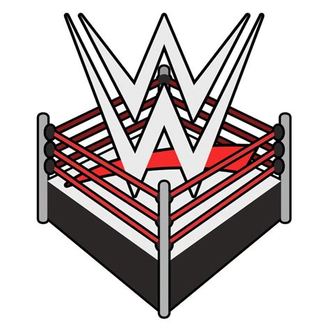 wwe wrestling logo ring png   Wrestling birthday, Wwe logo ...