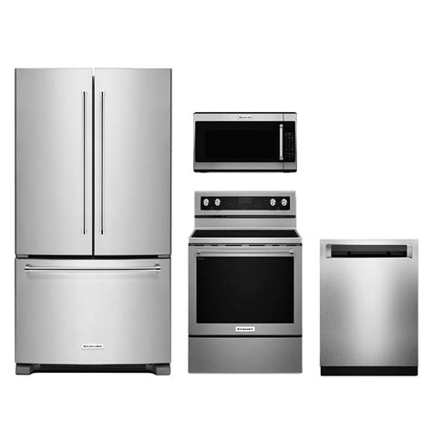 The Perfect Amazing 4 Piece Stainless Steel Kitchen