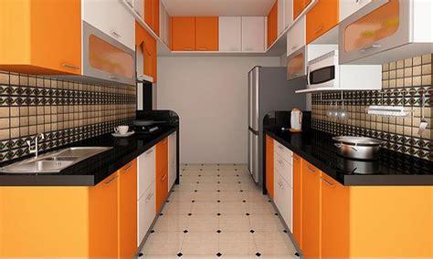 parallel kitchen design ideas parallel kitchen designs 4100