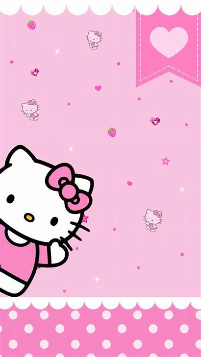 Kitty Hello Wallpapers Iphone Pink Desktop Background