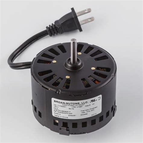 Broan Replacement Ventilation Fan Motor At Menards